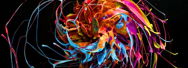 Peinture en mouvement par Marcel Christ   Flakom
