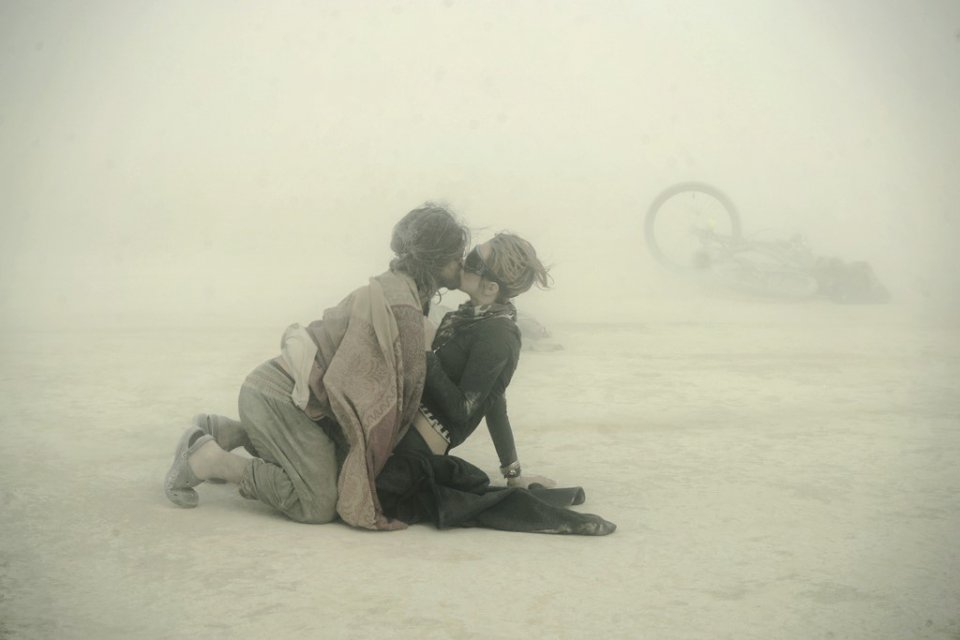Burning man par